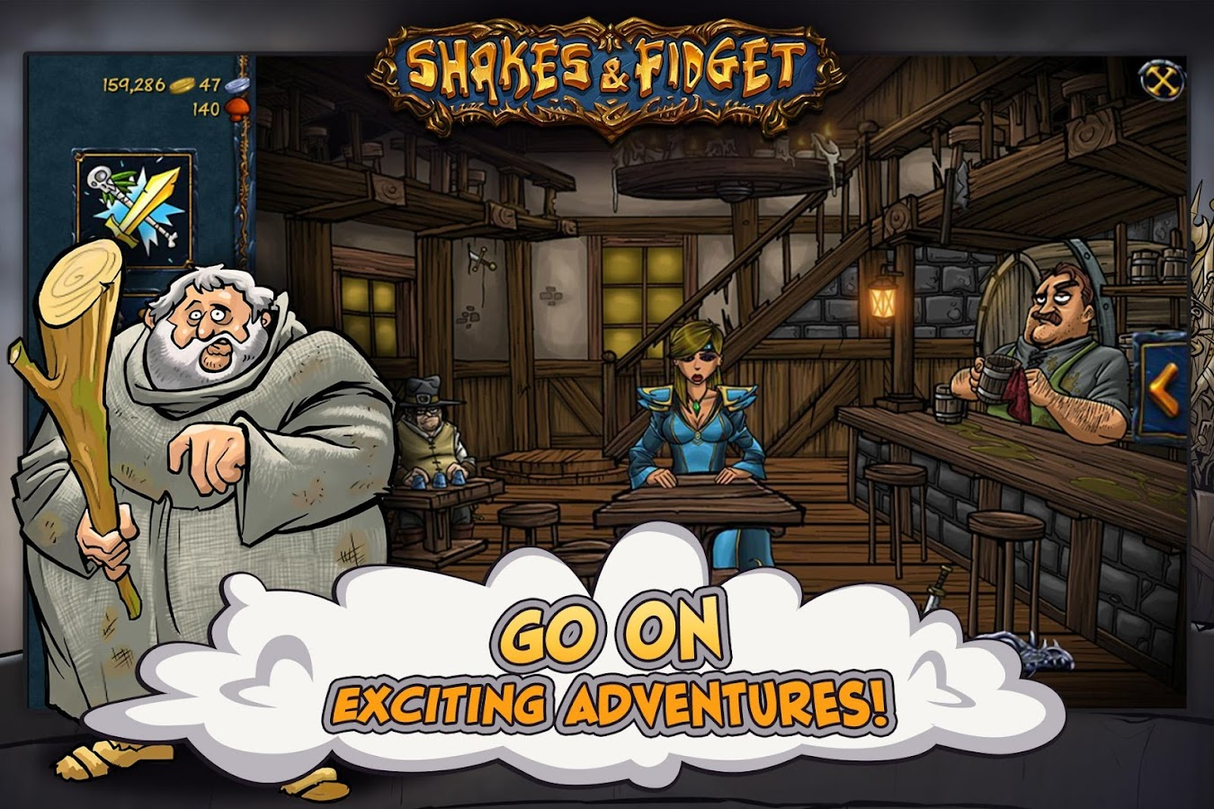Shakes and Fidget Screenshot 3