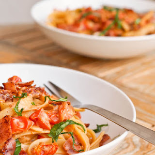 Pasta Ham Tomato Sauce Recipes