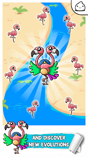 Flamingo Evolution - Idle Cute Clicker Game Kawaii
