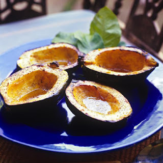Roasted Acorn Squash with Brown Sugar and Butter