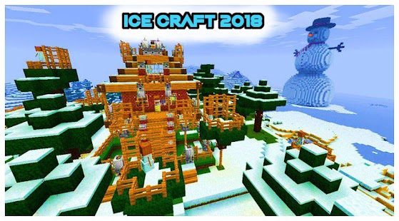 Ice Craft : Winter Crafting and Survival Screenshot