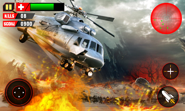 Shooter Helicopter Gunship 3D apk screenshot