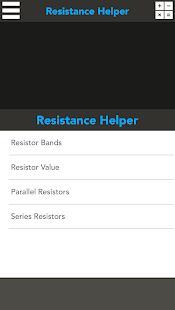 Resistance Helper - screenshot