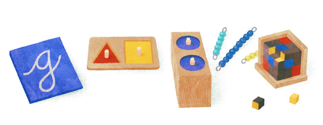 Maria Montessori's 142nd Birthday