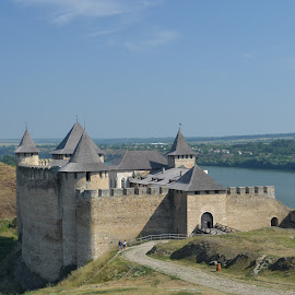 Khotyn Fortress (West Ukraine) by Stanisław Sawin - Buildings & Architecture Public & Historical