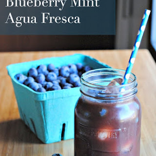 Blueberry Mint Agua Fresca