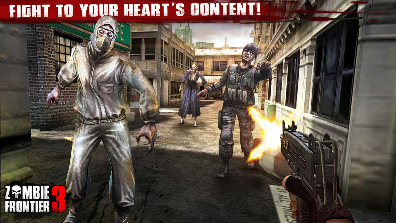 Zombie Frontier 3-Shoot Target Screenshot 1