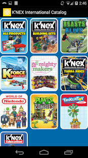 K'NEX Catalog - International - screenshot