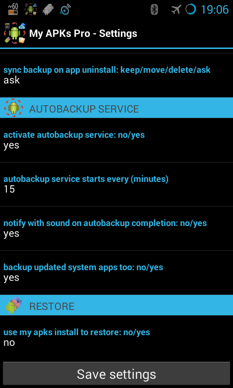 My APKs Pro backup manage apps Screenshot 5