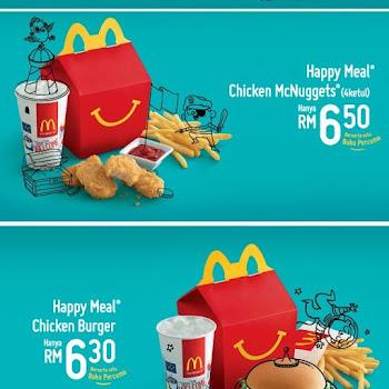 Mcdonald S New Happy Meal Mcfish Malaysia Food Restaurant Reviews