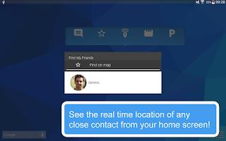 Screenshot of Find My Friends