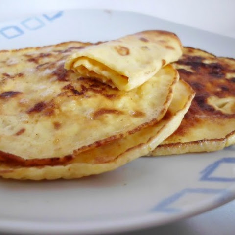 Low-Carb Cream Cheese Pancakes