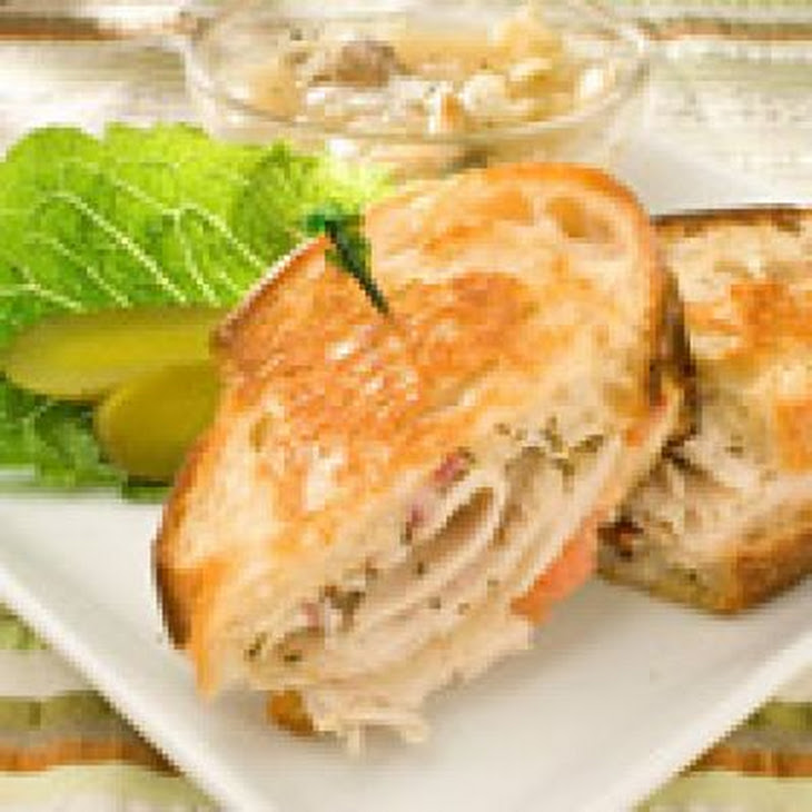 Tangy Turkey and Swiss Sandwiches Recipe | Yummly