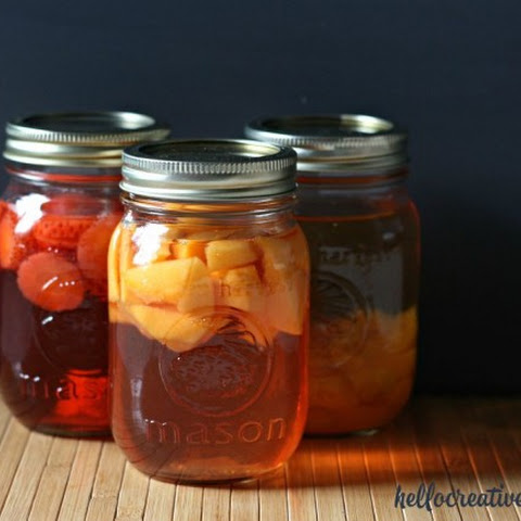 How To Make Fruit Infused Vinegar