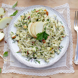 Celeriac Apple Slaw
