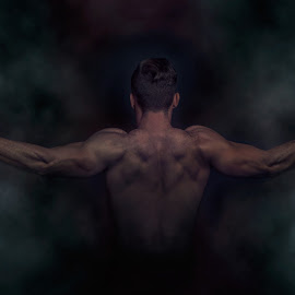 Backday by Gerrit de Graaff - Sports & Fitness Fitness ( studio, mucles, fitness, gym, photoshop )