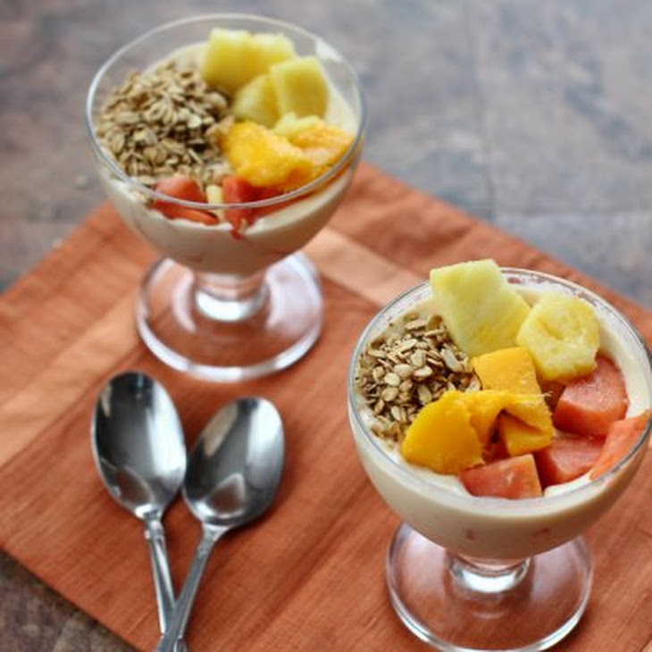 Tropical Fruit Smoothie Bowl Recipe | Yummly