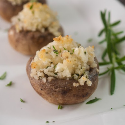 Stuffed Mushrooms with Feta Cheese