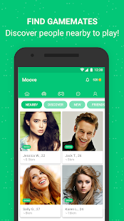 App Play Games, Chat, Meet - Moove APK for Windows Phone