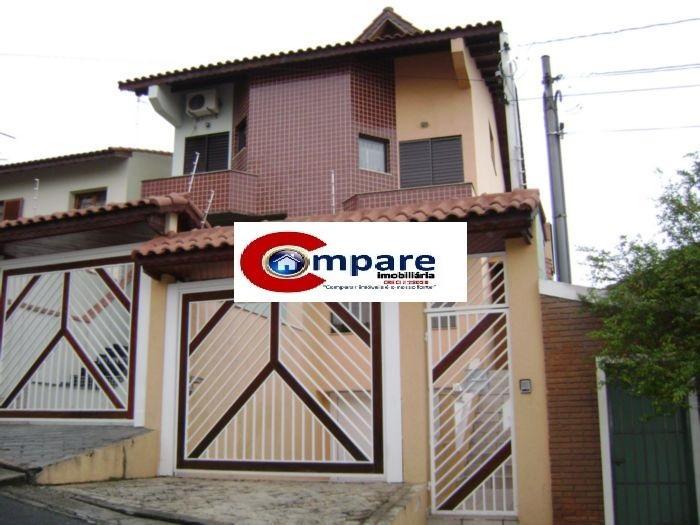 Casa 4 Dorm, Vila Rosália, Guarulhos (SO1389)