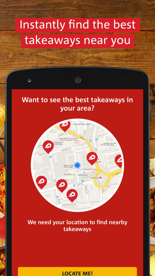 hungryhouse Takeaway Delivery Screenshot 0