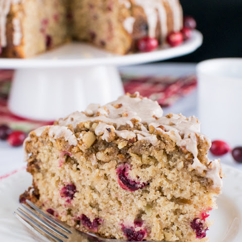 Apple Cranberry Coffee Cake