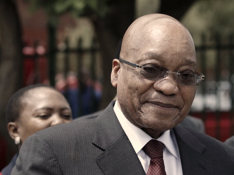 President Jacob Zuma. REUTERS