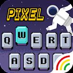 Pixel Emoji Keyboard Theme Icon