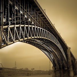 by Steve Hermann - Buildings & Architecture Bridges & Suspended Structures