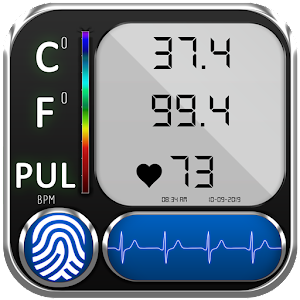 Body Temperature Thermometer : Fever Check History Online PC (Windows / MAC)