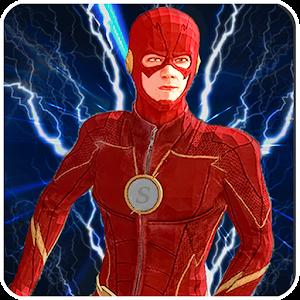 Superhero Flash Hero:flash speed hero- flash games