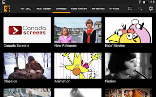 Screenshot of NFB Films