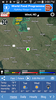 Screenshot of KMOT-TV First Warn Weather
