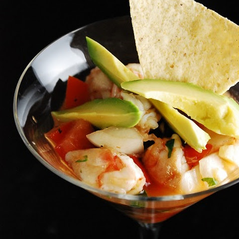 Shrimp Ceviche with Avacado