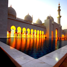 Sheikh zayed grand mosque by Syam Alendu Nair - Buildings & Architecture Places of Worship