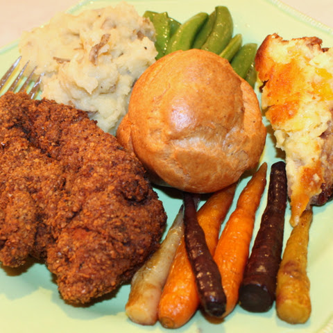 Matzo Meal Fried Chicken
