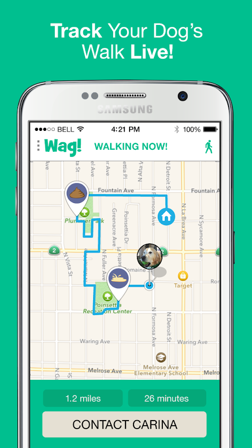 Wag! - Dog Walking Screenshot 2