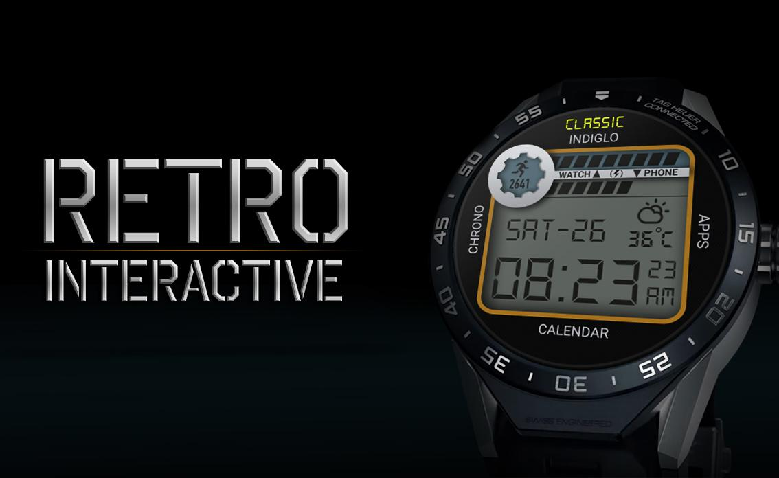 Retro Interactive Watch Face Screenshot 19