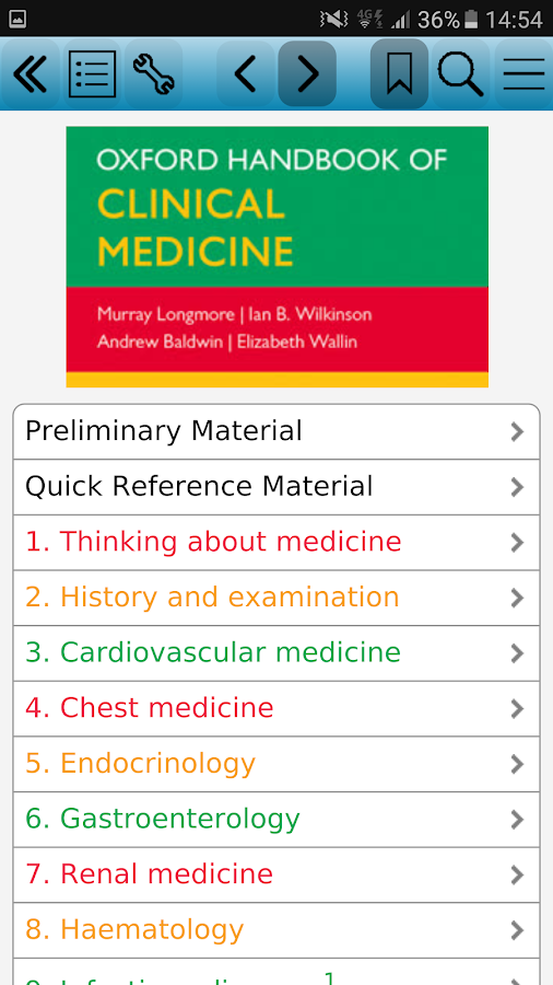 MedHand Mobile Libraries Screenshot 3
