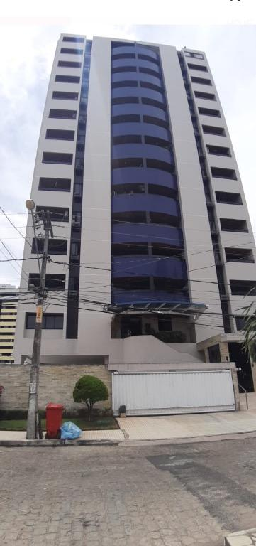 Apartamento com 3 dormitórios para alugar, 106 m² por R$ 1.400/mês - Manaíra - João Pessoa/PB