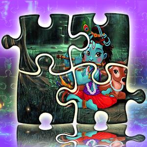 Lord Radha Krishna Jigsaw - Baby Gopi Doll Live For PC (Windows & MAC)