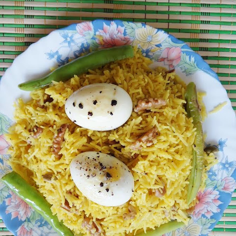 Saffron Rice Recipe Or Saffron Rice Pilaf