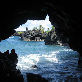 Hana, Maui by Anu Sehgal - Landscapes Caves & Formations