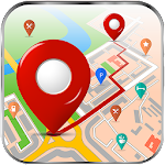 GPS Maps, Directions & City Guide Icon