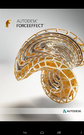 Autodesk ForceEffect screenshot 1