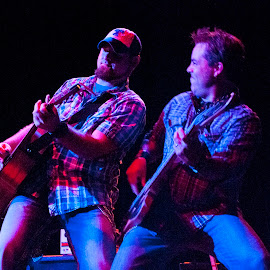 Lock Stock & Barrel by Chad Knowlden - People Musicians & Entertainers ( concert, lock, opening, barrel, willy nelson,  )