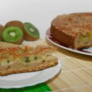 Fruit Cake With Kiwi
