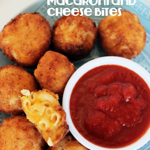 Fried Macaroni and Cheese Bites