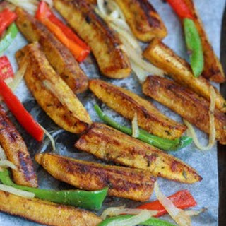 Roast Jerk Plantains