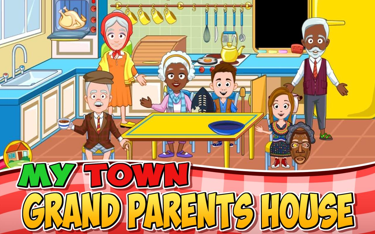 My Town : Grandparents Screenshot